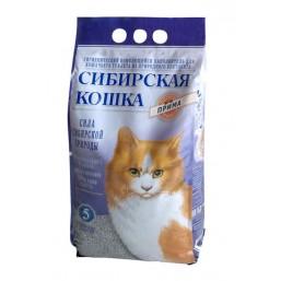 Сибирская Кошка Прима 5л комкующийся