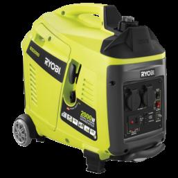 Генератор бенз. 163 см3 OHV, 2400 Вт, бак 15 л, розетки пост/пер. 2/1. ресурс работы 20/11 ч. доп. к RGN2400