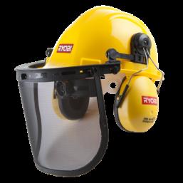 Шлем с защитным экраном и наушниками ACC008