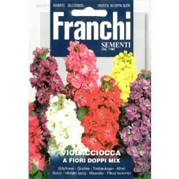 Левкой махровый крупноцветковый смесь  MIX DBF 357/1   Franchi Sementi