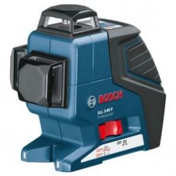 Линейный лазерный нивелир (построитель плоскостей) GLL 3-80 P + BS 150 + вкладка под L-Boxx 0601063306