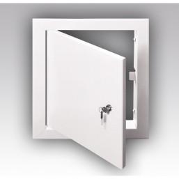 Металлический лючок с замком ЛТ 4040МЗ   (4040 ЛМЗ) Эковент