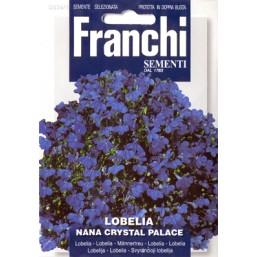 Лобелия компактная синяя Crystal Palace (0,3 гр)  DBF 334/1   Franchi Sementi