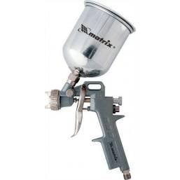 Краскораспылитель пневмат. с верхним бачком V=1,0 л MATRIX 57315