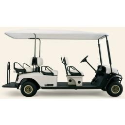 Машинка для гольфа CS6-E-HG зеленая,  E-Z-GO