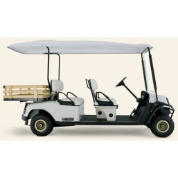 Машинка для гольфа CS4-E-CH шампань,  E-Z-GO