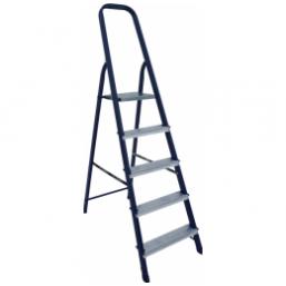 30216081 Ст. лестница-стремянка 5-х ступ Н=1,03/3,10м  (М8305) Алюмет
