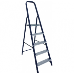 30216083 Ст. лестница-стремянка 7-х ступ  Н=1,45/3,50м  (М8407) Алюмет