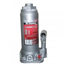 Домкрат гидравлический бутылочный, 8 т, h подъема 230–457 мм MATRIX  50723