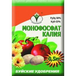 Удобрение минеральное сухое БХЗ Монофосфат Калия 0,5 кг.