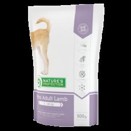 Natures Protection Adult Mini Lamb 500g dog food