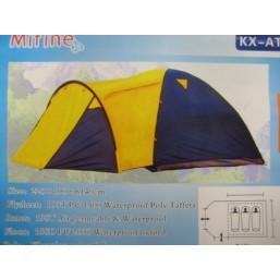 Палатка AT-903 2.4м х2.1м х1.5м 4-х местная 12089