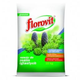 Удобрение гранул для хвойных растений 25кг.  ФЛОРОВИТ