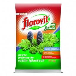 Удобрение гранул для хвойных растений осеннее 10кг.  ФЛОРОВИТ