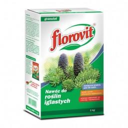 Удобрение гранул для хвойных растений 1кг.  ФЛОРОВИТ