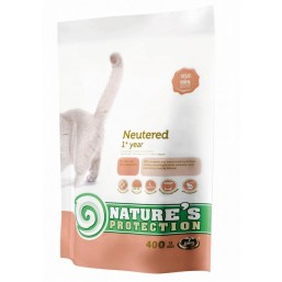 Natures Protection Neutered 400g cat food