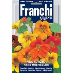 Настурция карликовая Nano, смесь (5 гр)  DBF 340/1   Franchi Sementi