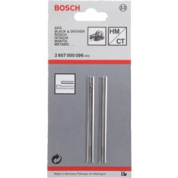 2 HOЖА ДЛЯ РУБАНКА 82ММ ПРЯМОЙ 2607000096 Bosch