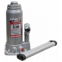 Домкрат гидравлический бутылочный, 5 т, h подъема 216–413 мм MATRIX  50721