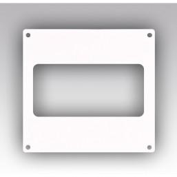 Накладка настенная прямоугольная Эковент 612НПП