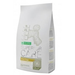 NP Superior Care White dog Small breed adult 1.5kg feed for white small breed dogs    ( БЕЛЫЕ СОБАКИ