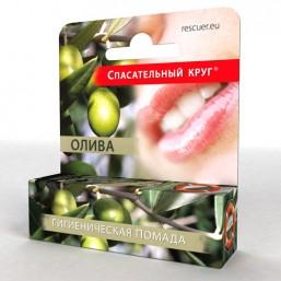 Гигиеническая губная помада Олива стик 4,6мл