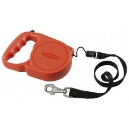 Поводок-рулетка FLIPPY REGULAR красный- шнур  до 40 кг