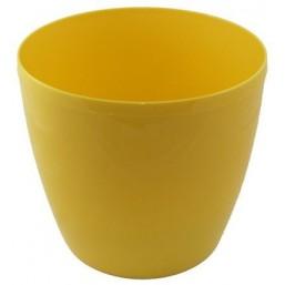 Горшок Магнолия 300мм, цвет лимонный