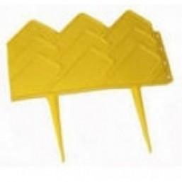 """Бордюр """"Готика"""", 14 х 310 см, желтый  65055"""
