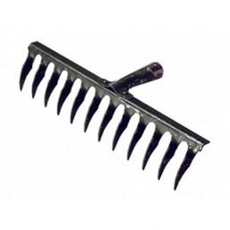 Грабли 12-зубые, 320 мм, без черенка, витые СИБРТЕХ  61740