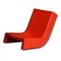 Шезлонг пласт. Twist, красный, 113x55см, h-71 (SDTWS070D)   SLIDE Италия