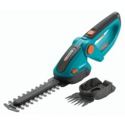 Ножницы для газонов и кустарников аккумуляторные ComfortCut + ножи для травы и кустарника Gardena