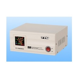 Стабилизатор PC-TZM 1000VA Гор. (Эл) белый