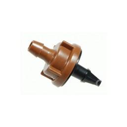 Компенсирующие капельницы, расход воды 45 л/ч, темнокоричневые Rain Bird PC-12