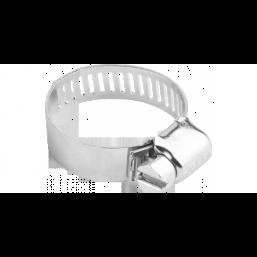 """Хомуты ЗУБР """"ЭКСПЕРТ"""", оцинкованные, просечная лента 12 мм, 57-76 мм, 50 шт"""