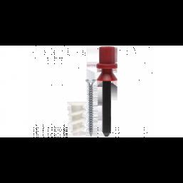 Дюбель ЗУБР для гипсокартона, нейлоновый, с оцинкованным саморезом и установочн. инструментом, ТФ 6,