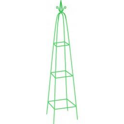 Пирамида садовая для вьющихся растений, 198 х 33 см, PALISAD 69127