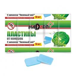 Пластины от комаров NADZOR с запахом лайм 11329