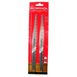 Полотна для ножовочной пилы по дереву 152*130*8,0 мм (2 шт.) Интерскол 2210913000801