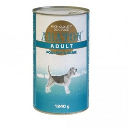 ARATON wet food for dogs 1240g with poultry and game