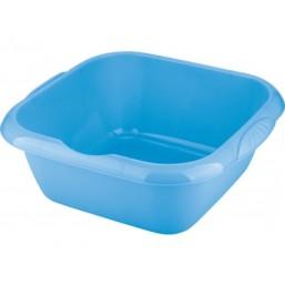 Таз пластмассовый квадратный 12л, голубой ТМ Elfe  92985