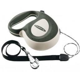 Поводок-рулетка  FLIPPY CONTROLLER зеленый - шнур