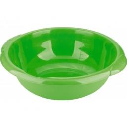 Таз пластмассовый круглый 10,5л, зеленый ТМ Elfe  92972