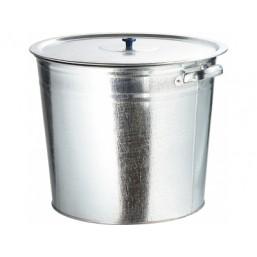 Бак для воды оцинкованный с крышкой (крышка с ручкой) 70л 67552