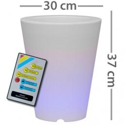 Горшок с диодной подсветкой, d 30 cm 303131