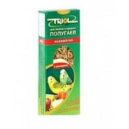 Е105 Триолл- Криспи лакомство для мелк.и сред.попугаев с овощами