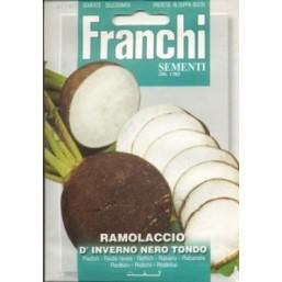 Редька черная  NERO TONDO D'INVERNO (0,2 гр) 114/2 Franchi Sementi