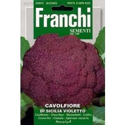 Капуста цветная DI Sicilia Violletto (0,2 гр) 30/29 Franchi Sementi
