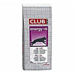 Корм для собак Royal Canin Club Energy HE Pro 20 кг