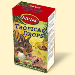 SK7450 SANAL (для грыз) Tropical Drops 45г (Тропические дропсы)  (14шт)